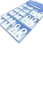 "25 PC Fraction Radius Gage Set 1//64-1//2/"" Machinist Tool Inspection Gauge"