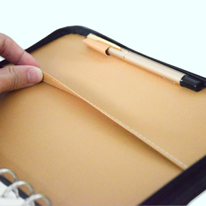 sayeec refillable leather notebook gift for women