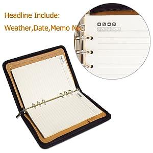 SAYEEC ring binder notebook