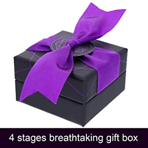 Unique 4-Stages Breathtaking Jewelry Gift Box