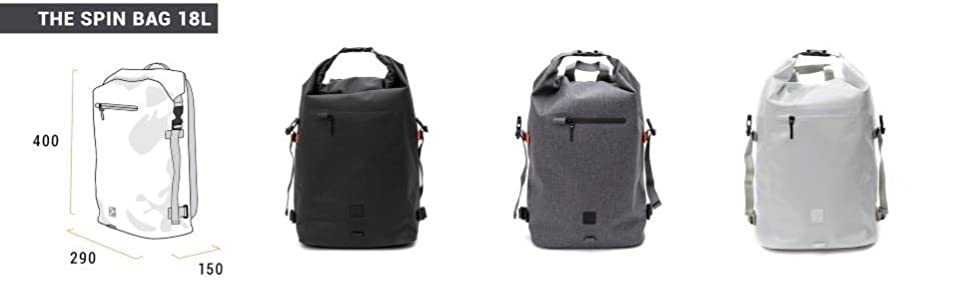1753ec690d Amazon.com: IAMRUNBOX Spin Bag Backpack for Commuting, Laptop ...