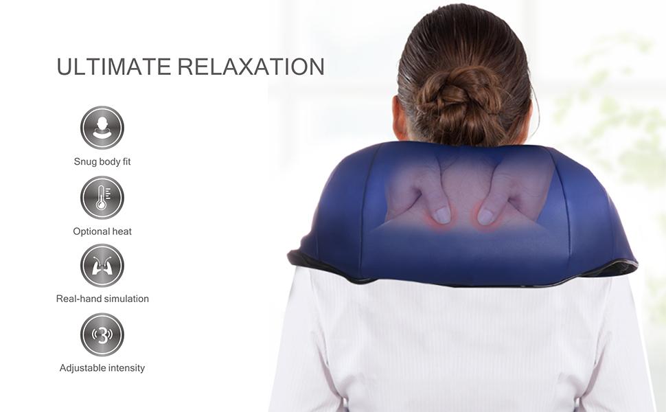 neck shiatsu massager