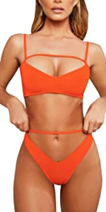 Cut Out Sexy Bathing Suits