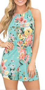 Rompers for summer printed