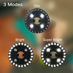 3 Lighting Modes
