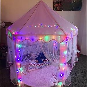 kids castle lights