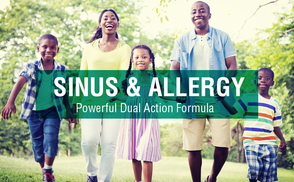 bioAllers Sinus Allergy Relief Nasal Spray Fast-Acting Homeopathic Remedy Congestion Headache .8 oz