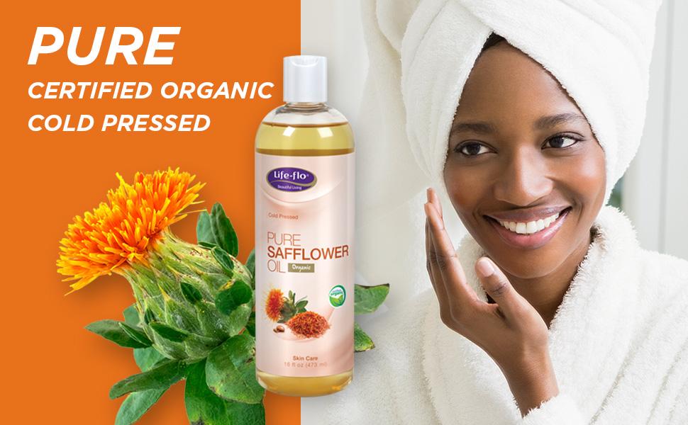 safflower oil for face