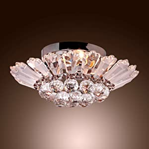 Light Information Type Flush Mount Suggested Space Fit Bedroom Living Room Dining Finish Electroplated Direction Ambient