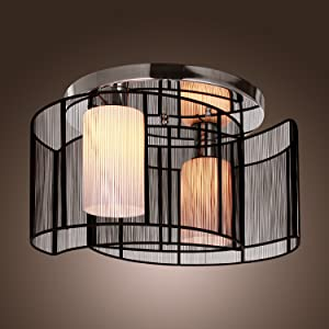 Light Information Type Flush Mount Suggested Space Fit Hallway Dining Room Living Finish Electroplated Direction Ambient