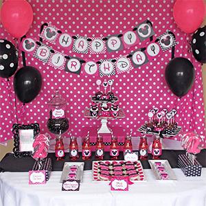Amazon.com: PartyWoo - Globos negros y rosas de látex, 90 ...