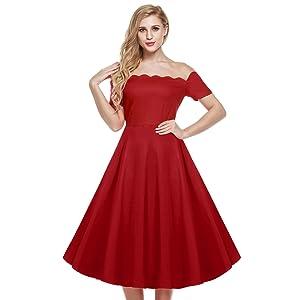 Calf Length Cocktail Dress