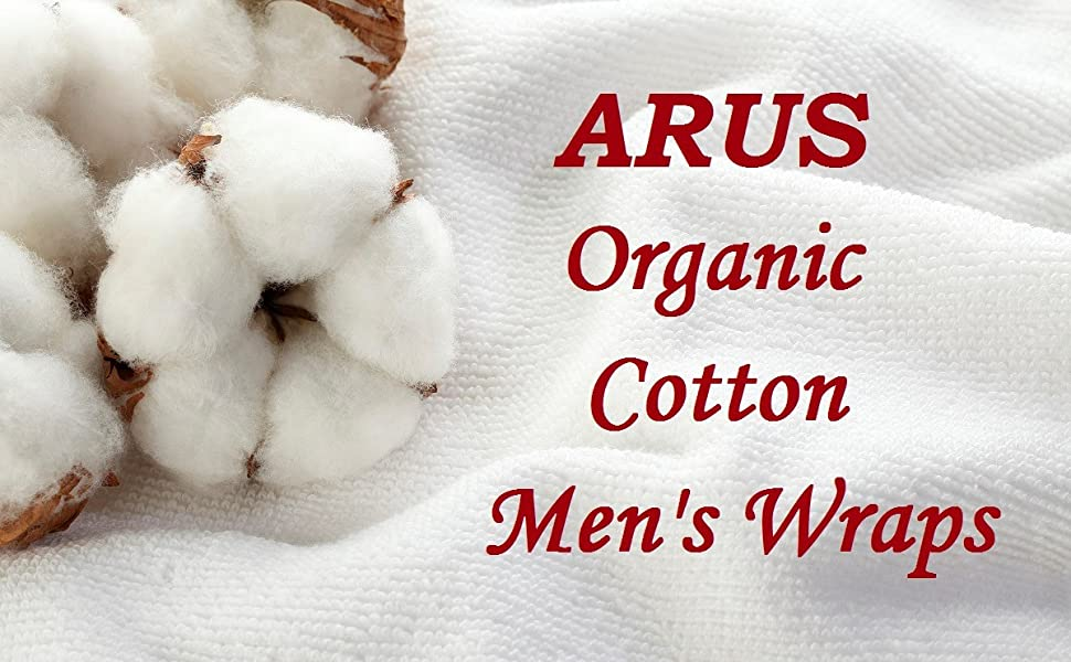 organic cotton mens wrap