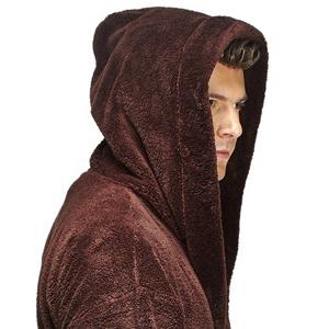 Wide Cut Hooded Bathrobe