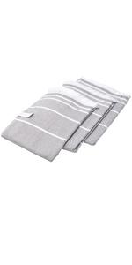 Peshtemal Bath Beach and Spa Fouta Wrap Towel Set - 3 pack