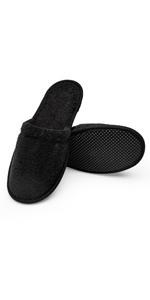 Men's Turkish Organic Terry Cotton Cloth Spa Slippers