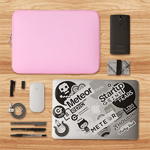 Hot Pink AZ-Cover 11-Inch Bag Simplicity /& Stylish Diamond Foam Shock-Resistant Neoprene Sleeve For ASUS 11-Inch X202E Notebook PC Laptop