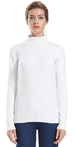Ninovino Women s Crew Neck Cable Knit Long Sleeve Tunic Sweater at ... 8b3440583
