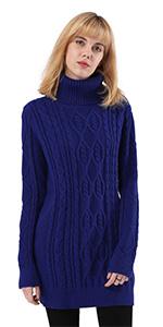 ninovino Women s Highneck Slim-Fit Sweater · ninovino Women s Turtleneck  Ribbed Knit Loose Sweater · ninovino Women s Turtleneck Cable Long Sweater  Pullover ... d6d2e3e38