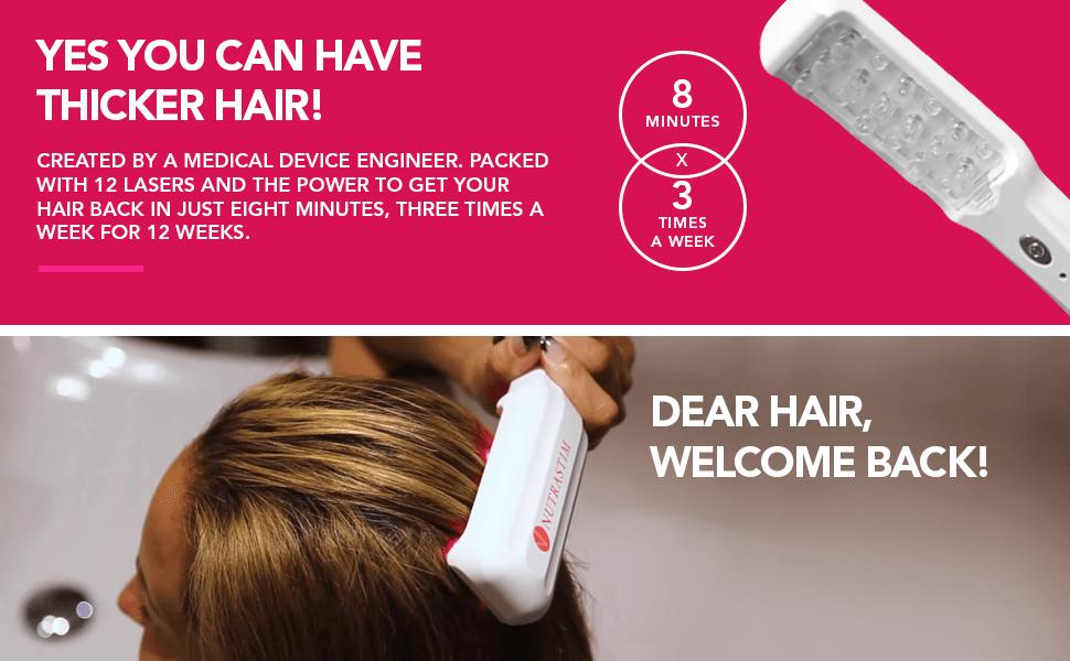 Hairmax Laser B Results