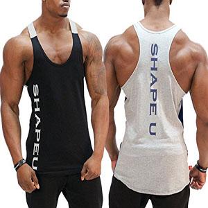 Gainz Addict Men/'s Tank Top Gym Shirt Muscle Sleeveless Men Fitness Workout Vest