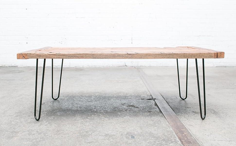 Stupendous Heavy Duty Hairpin Legs Satin Black Mid Century Modern Set Of 4 Table Legs Theyellowbook Wood Chair Design Ideas Theyellowbookinfo