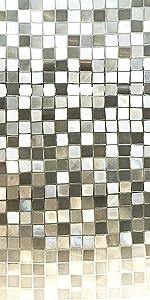 Big Mosaic Privacy Window Film