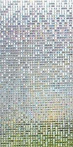 Small Mosaic Privacy Window Film