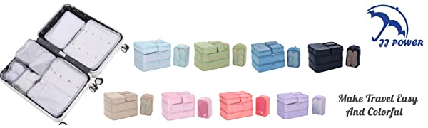 packing cubes organizers