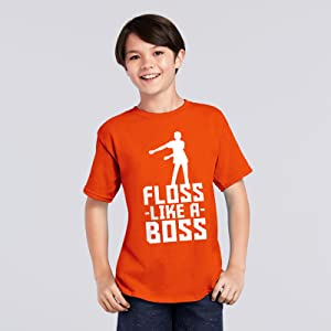 Childrens Unisex Kids T-Shirt 2-12 Years Gaming Dance Floss Like A Boss