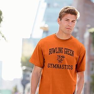 ab4d65eb ncaa university college collegiate gymnastics gymnast school pride athletics  t shirt. ncaa college university collegiate licensed sports ...