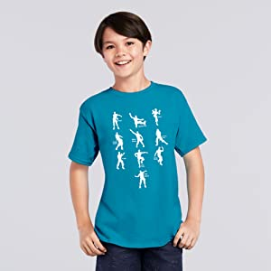Emote Dance Floss Like A Boss Video Game Online Gaming Gamer Youth T Shirt