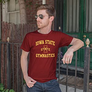 9a2d811c ncaa college university collegiate licensed sports athletics gymnastics  gymnast t shirt