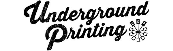 Underground Printing UGP logo