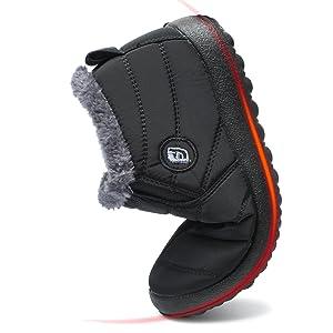 f9d46203b9f5 soft snow boots anti-slip warm waterproof
