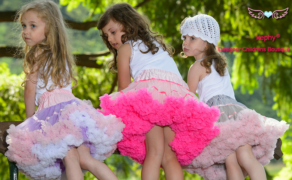 kephy Pettiskirt for Girls Mix-Color Baby Girl Tutu Skirt Assorted Size and Color Party Wear Dance Tutu