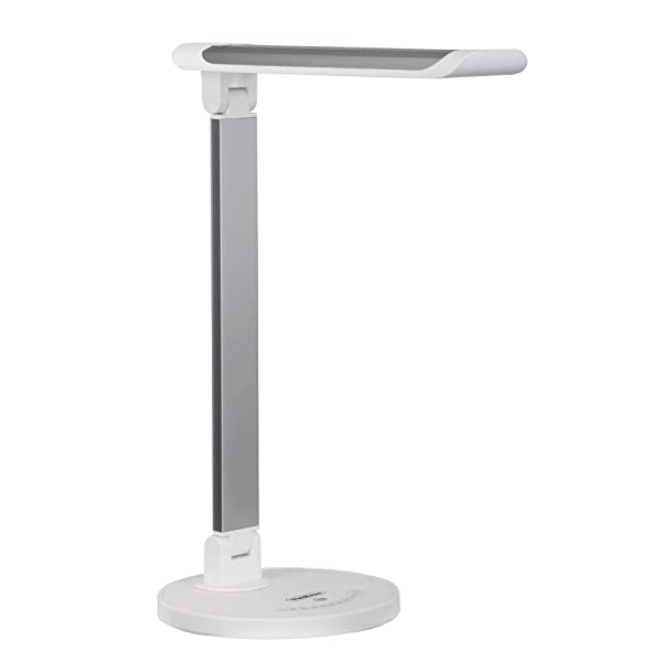 the vonhaus folding aluminum led desk lamp combines sleek form and innovative making it a fantastic choice for any home or office - Led Desk Lamp
