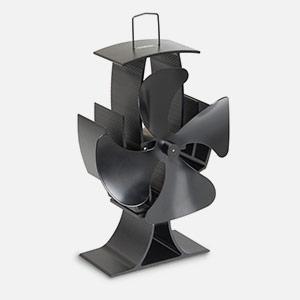 Amazon.com: VonHaus 4-Blade Heat Powered Wood Stove Fan