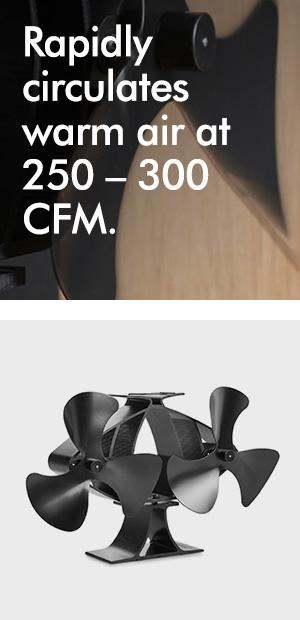 vonhaus 6 blade twin motor double heat powered. Black Bedroom Furniture Sets. Home Design Ideas
