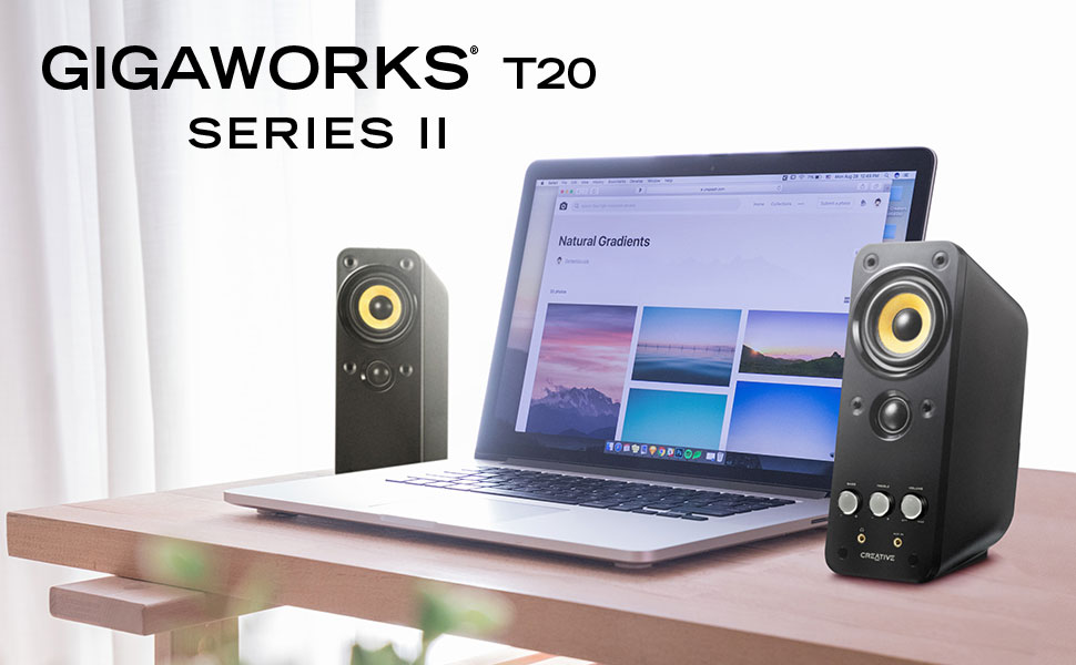 GigaWorks T20 Series II - 2.0 Multimedia Speakers