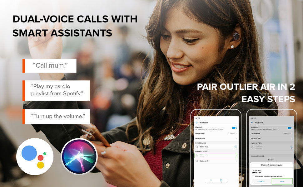 DUAL-VOICE CALLS WITH SMART ASSISTANTS