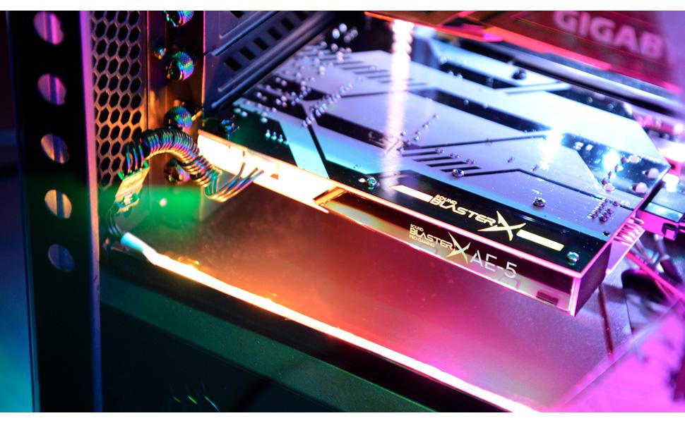 Kết quả hình ảnh cho Creative Sound BlasterX AE-5