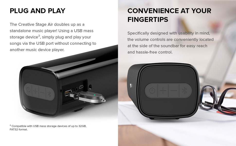 PLUG AND PLAY, CONVENIENCE AT YOUR FINGERTIPS