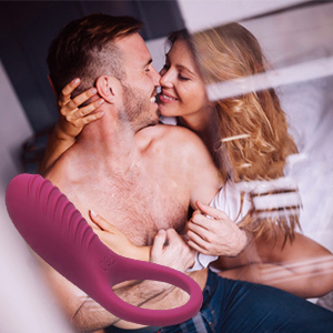 Our penis ring vibrator is designed as a penis ring and vibrator combo