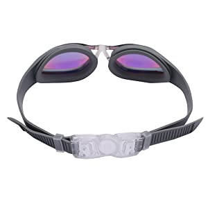 3fecb9531161 Amazon.com   Bezzee-Pro Swimming Goggles for Adult Men and Women ...
