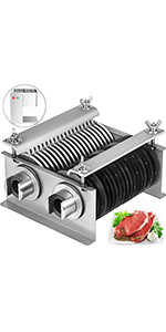 """5MM 0.2/"""" Blade Set for Meat Cutting Machine Easy Clean Evenly cut LSDP-68 Model"""