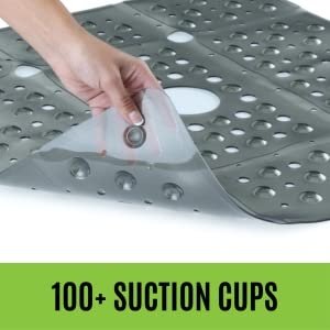 Amazon.com: SlipX Solutions Extra Large Square Shower Mat