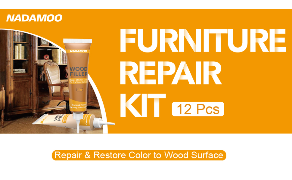 wood filler furniture touch up marker repair kit restore system stain scratch cover