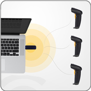 NADAMOO Wireless Barcode Scanner