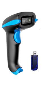 wireless barcode scanner cordless bar code reader scanning USB Wired 2D 1D 2D QR screen scan